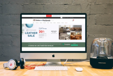 Project Sofas and Sectionals Website